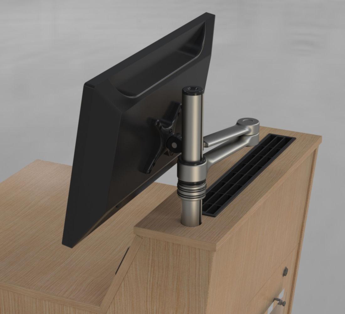 BGL-M01 Monitor Pole