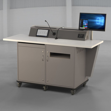 G-Series 2 Bay - All Options - Presenter Side