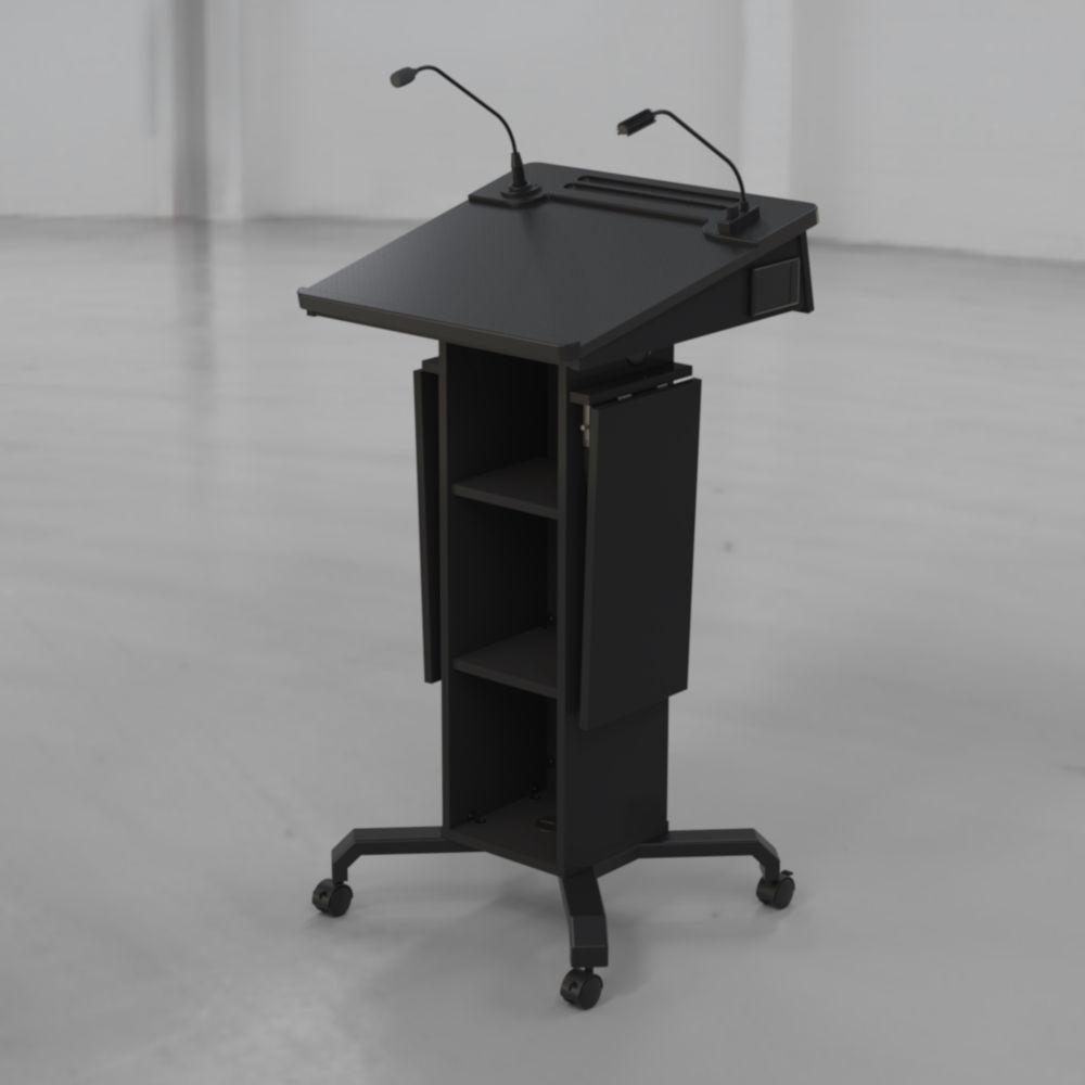BGL-PS50-Castors-Ext Shelves Down
