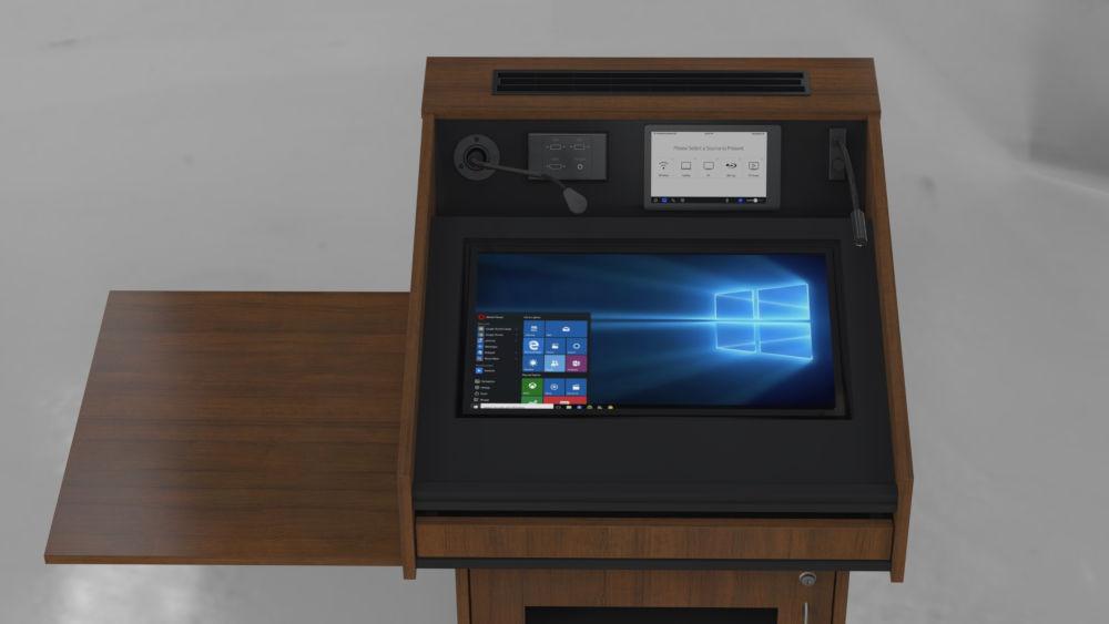 BGL-CPM01A - Monitor behind glass.