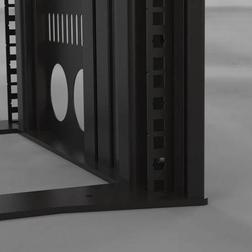 Slim Rack - Cage nut square detail