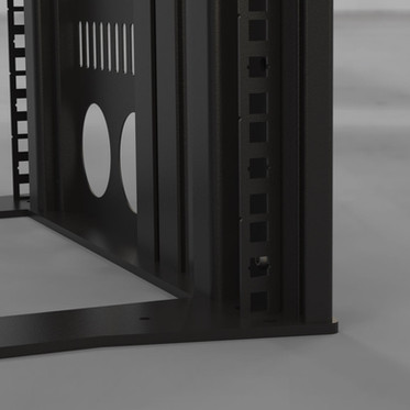 Slim Rack - Rage nut square detail