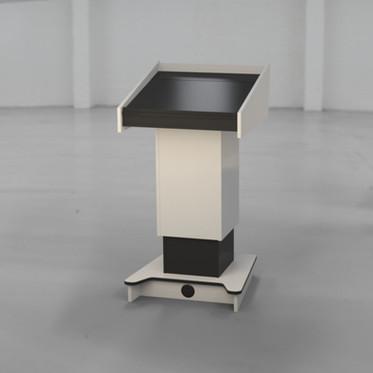 BGL-PS200-FH Presenter Side - White