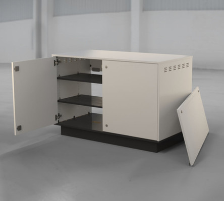 BG-RKM02-N800 - Front View - Door Open