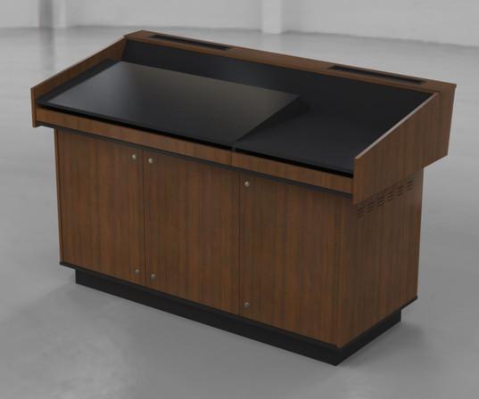 BGL-CPM03LA Left hand angled benchtop