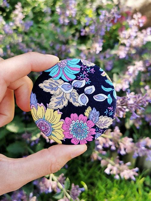 Compact Mirror - Bright Floral