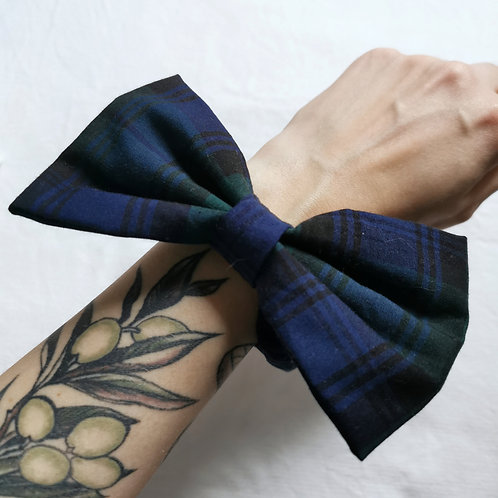 Tartan Scrunchie-Bows