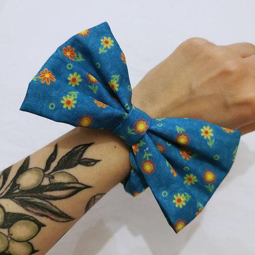 Floral Scrunchie-Bow