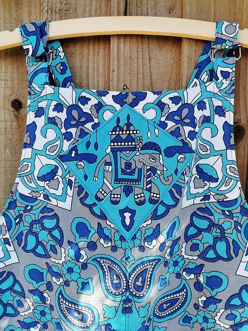 Boho Style Short Dungarees