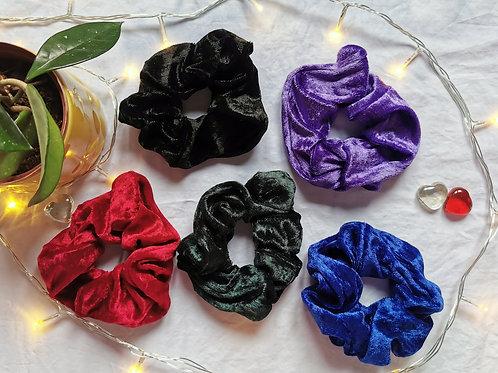 Large Scrunchie - Velvet Collection