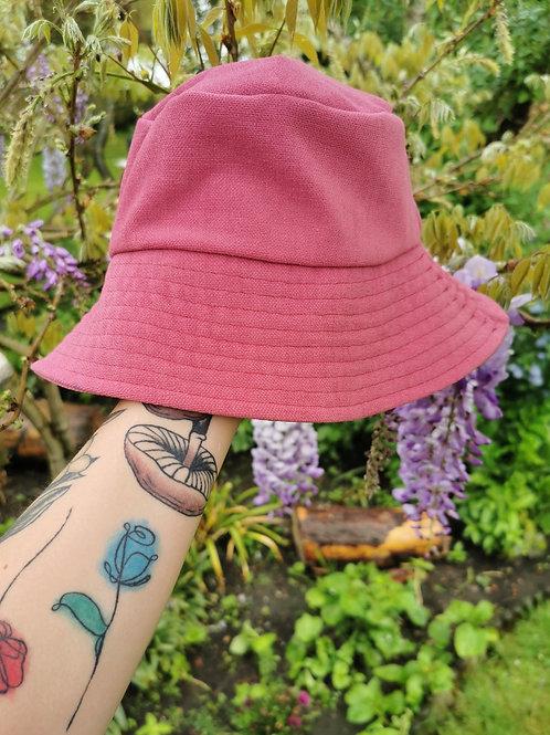 """Flamingo Pink Bucket Hat - 22""""-23"""""""