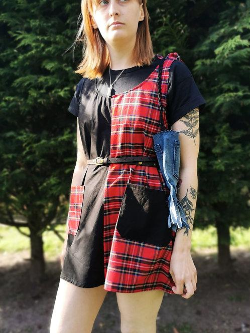 'Lily' Half & Half Dress