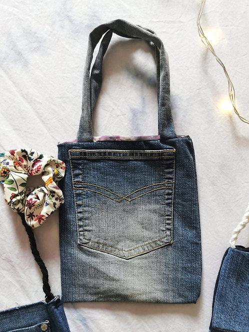 Small Denim Handbag