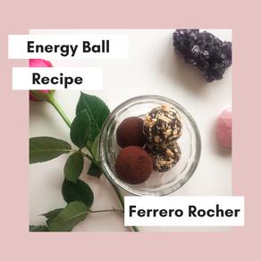 ''Ferrero Rocher'' Energy Balls made Healthy & Easy!
