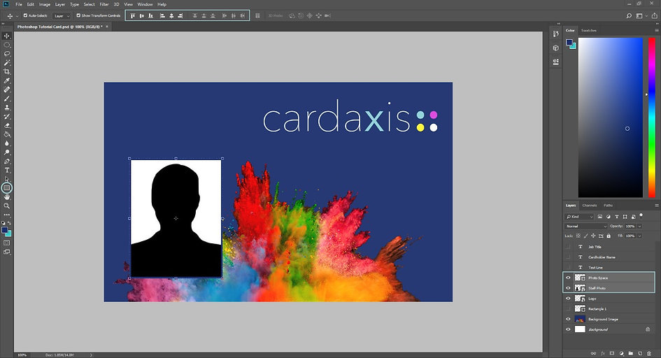 Design a Card in Photoshop 5
