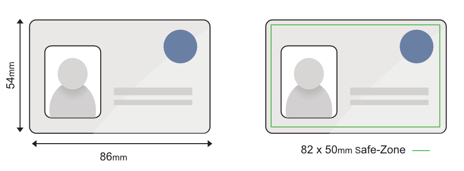 ID Card Artwork Size