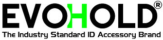 EVOHOLD® The Industry Standard ID Accessory Brand Logo