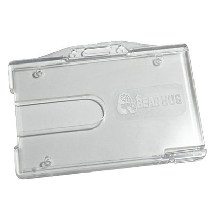 Heavy Duty Plastic Badge Case