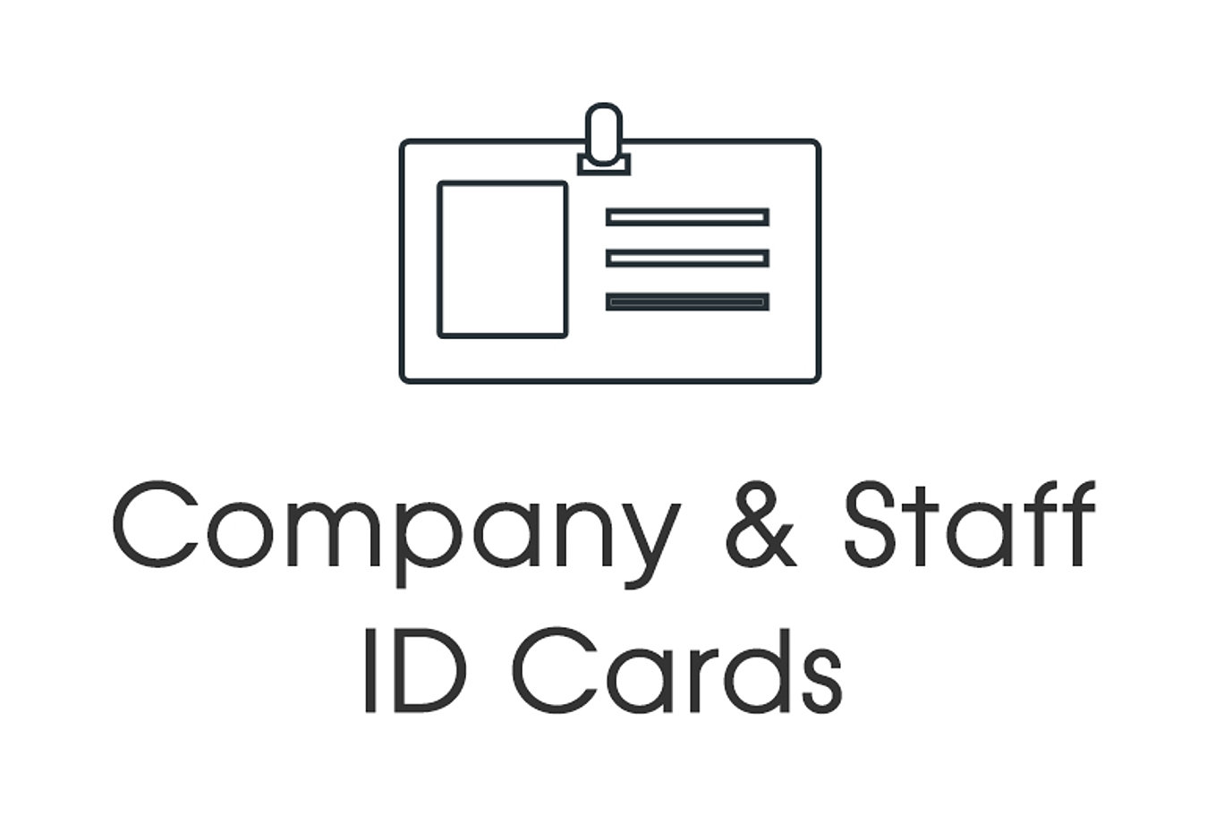 Custom plastic card printing service manchester uk inprimo id company id cards reheart Images