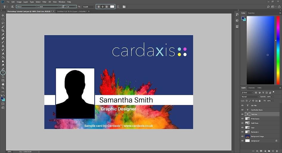 Design a Card in Photoshop 6