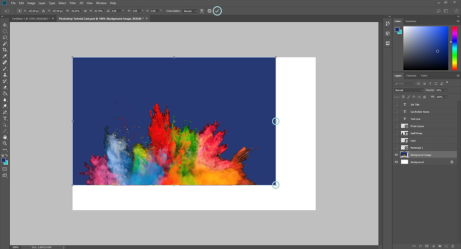 Design a Card in Photoshop 3