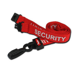 SECURITY Printed Lanyards 15mm x50