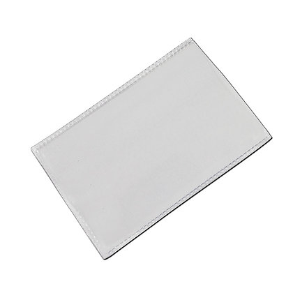 Clear Plastic ID Card Sleeves