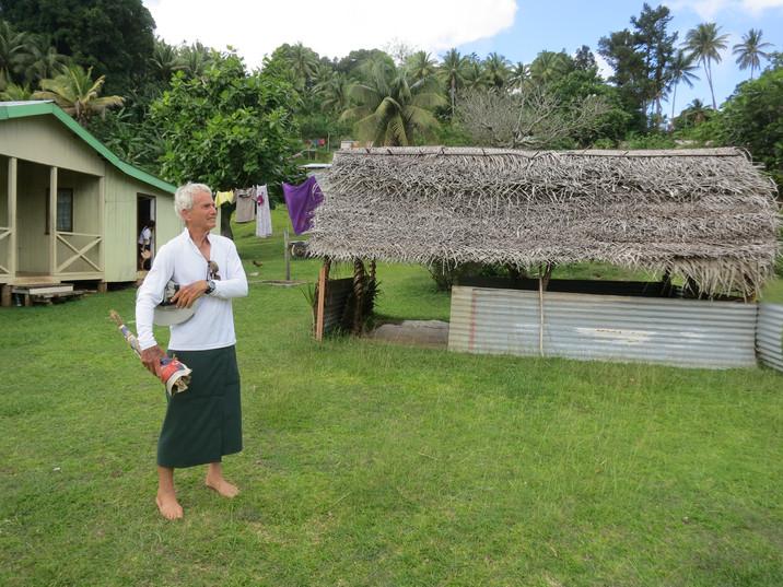 Ready for another sevu sevu in Fiji