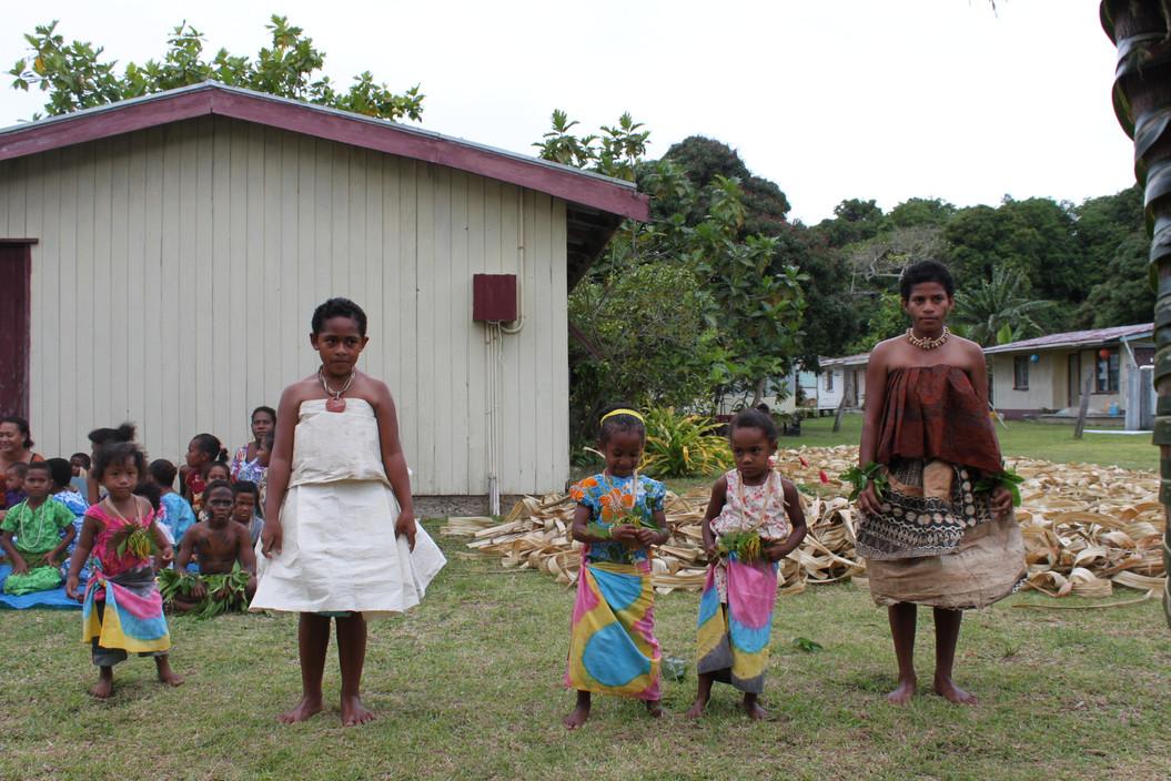 Traditional dancing in Fiji