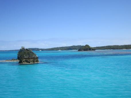 Fulaga, an isolated atoll in Fiji
