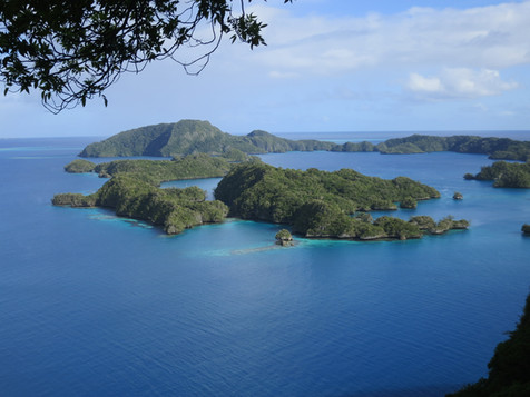 Exploring Bay of Islands, Fiji