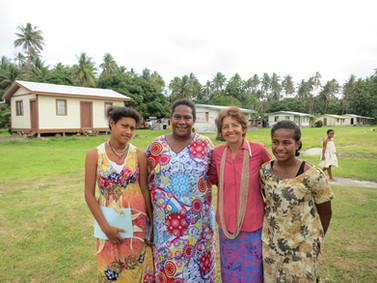 Celebrating Jerry's birthday in Fiji