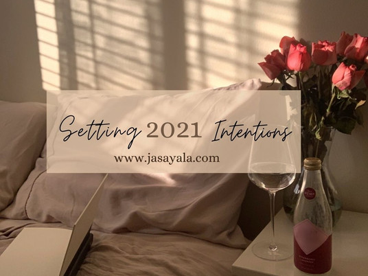 Setting 2021 Intentions