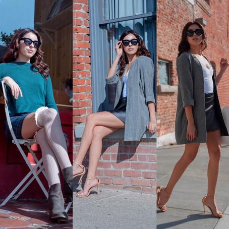 Thrift Fashion Lookbook  — Ventura, CA