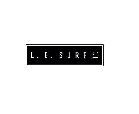 Lake Effect Block Sticker (Black)