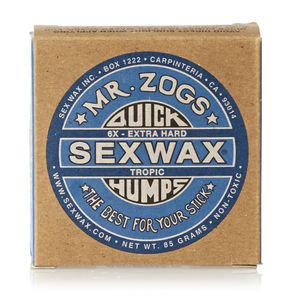 Mr Zogs Sex Wax Quick Humps Base/Tropical