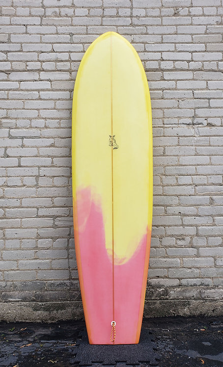 """Used Homegrown 6'8"""" Finless Square Tail"""
