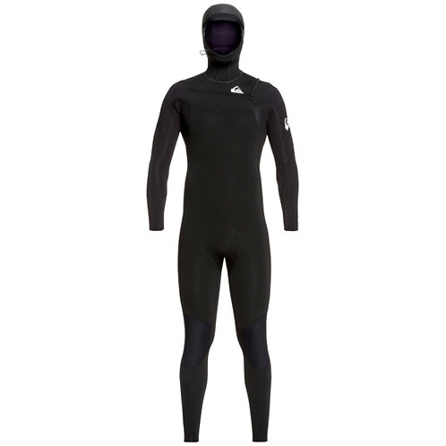 Quiksilver Mens 5/4/3 Syncro Hooded Wetsuit