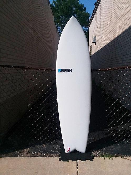 "Fresh Surfboards Fish Fry 6'2"""
