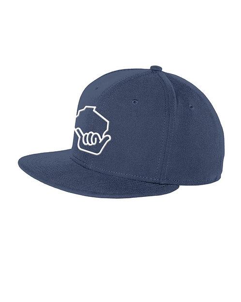 Wiloha Icon Adjustable Hat (Blue/White)