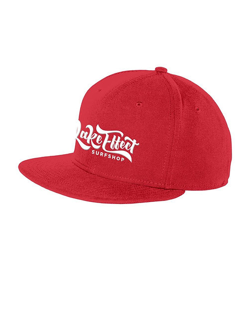Lake Effect Logo Adjustable Hat (Red)