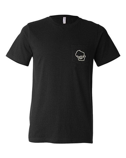 Wiloha Pocket Backprint Unisex T-Shirt