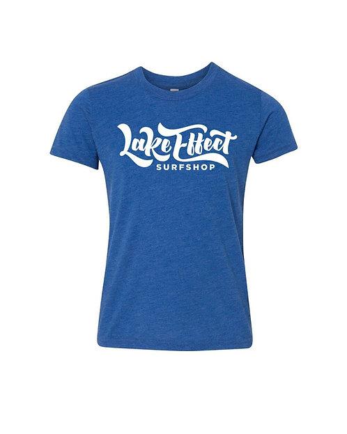 Lake Effect Youth T-Shirt (Blue)