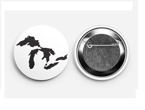 Great Lakes Button 2.25""