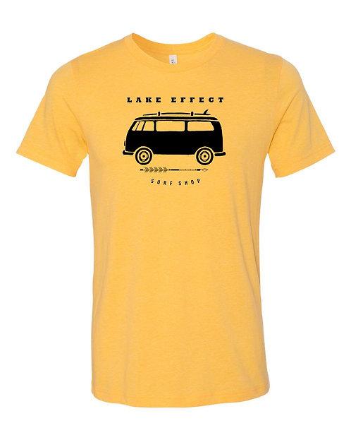 Lake Effect Van Unisex T-Shirt (Yellow)