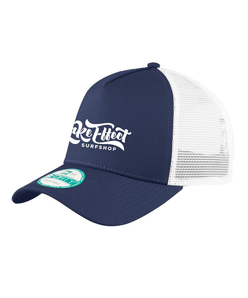 Lake Effect Logo Trucker Hat (Blue/White)