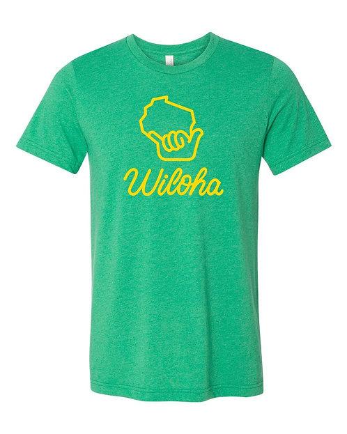 Wiloha Unisex T-Shirt (Green)
