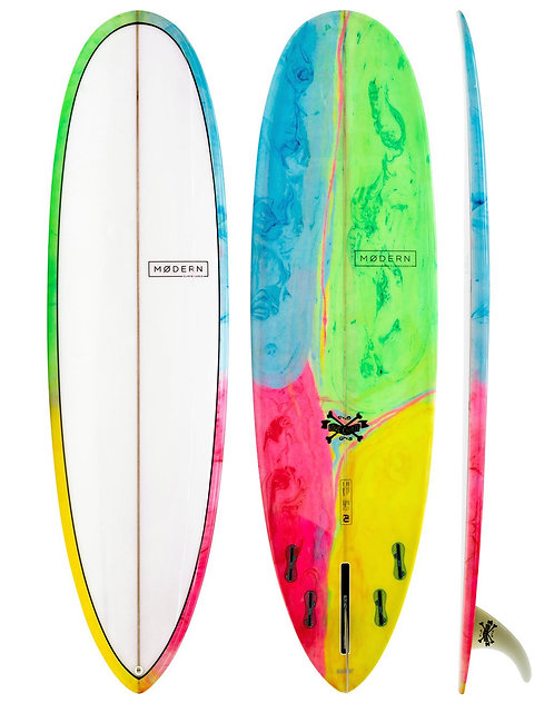 "Modern 7'6"" Love Child PU Psychedelic Tint"