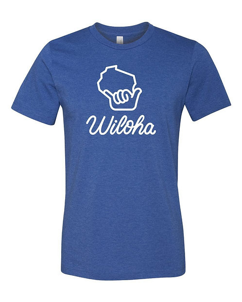 Wiloha Unisex T-Shirt (Blue)