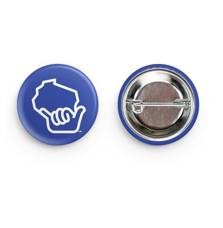 Wiloha Hand Pin (Blue)